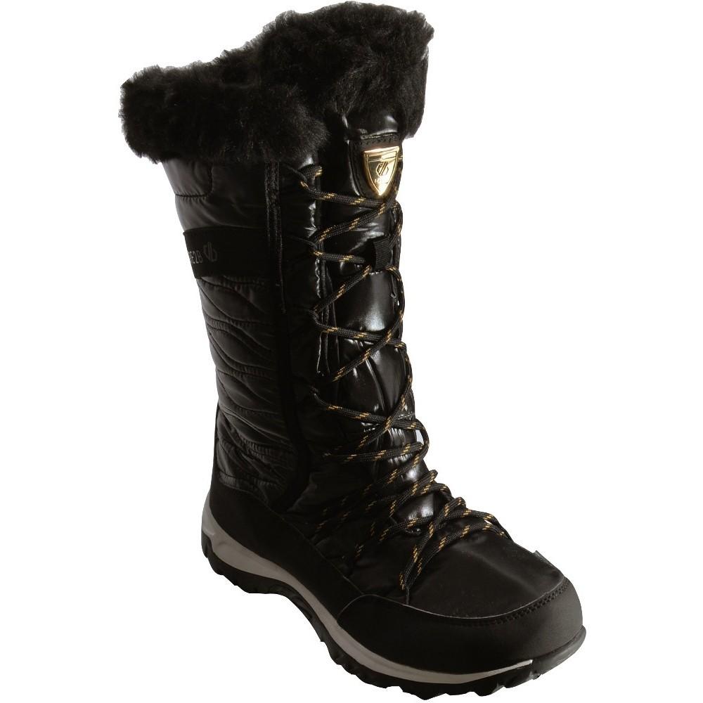 Silver Dare 2B Women/'s Kardrona II Metallic Faux Fur Trimmed Snow Boots