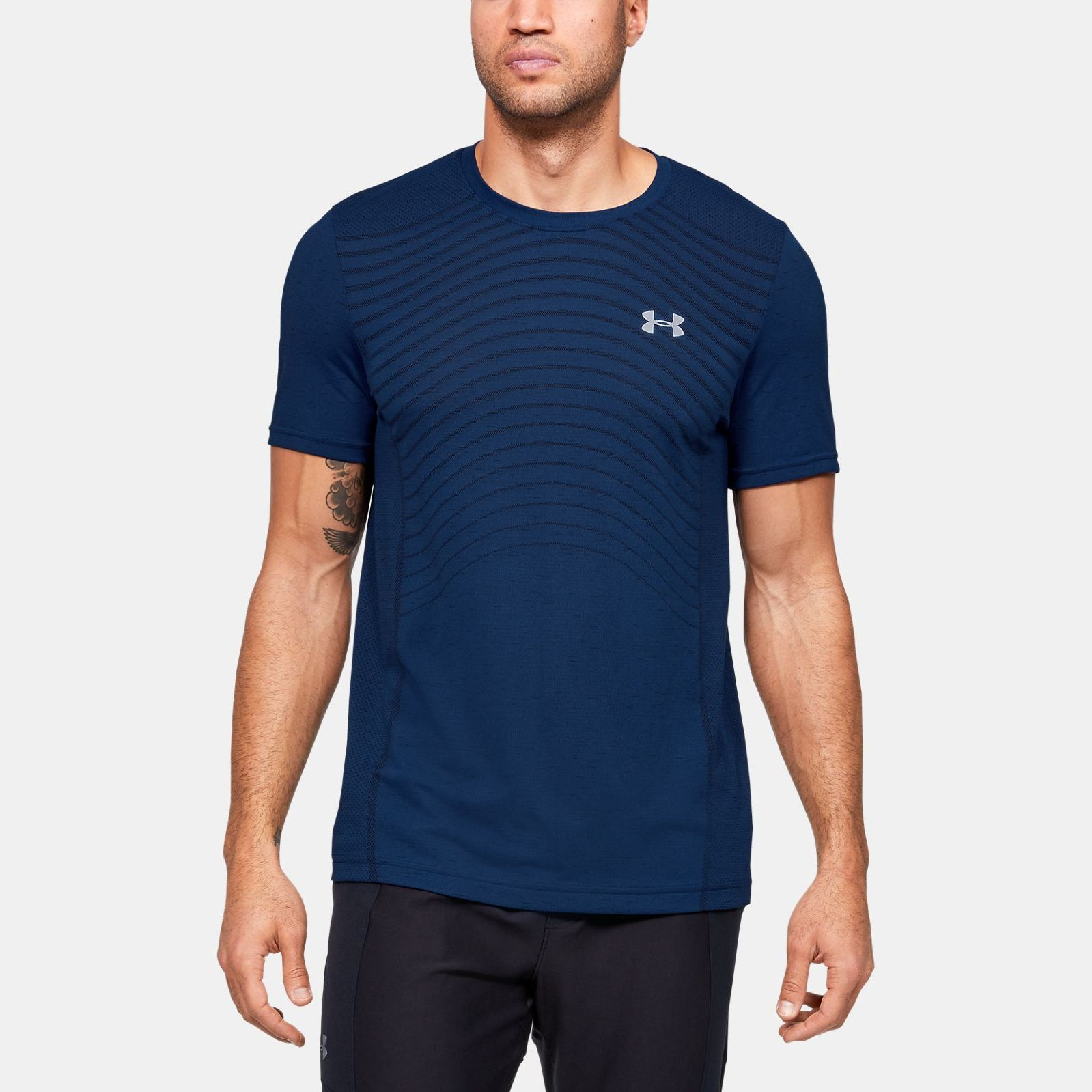 Clothing -  under armour Seamless Wave Short Sleeve 1450