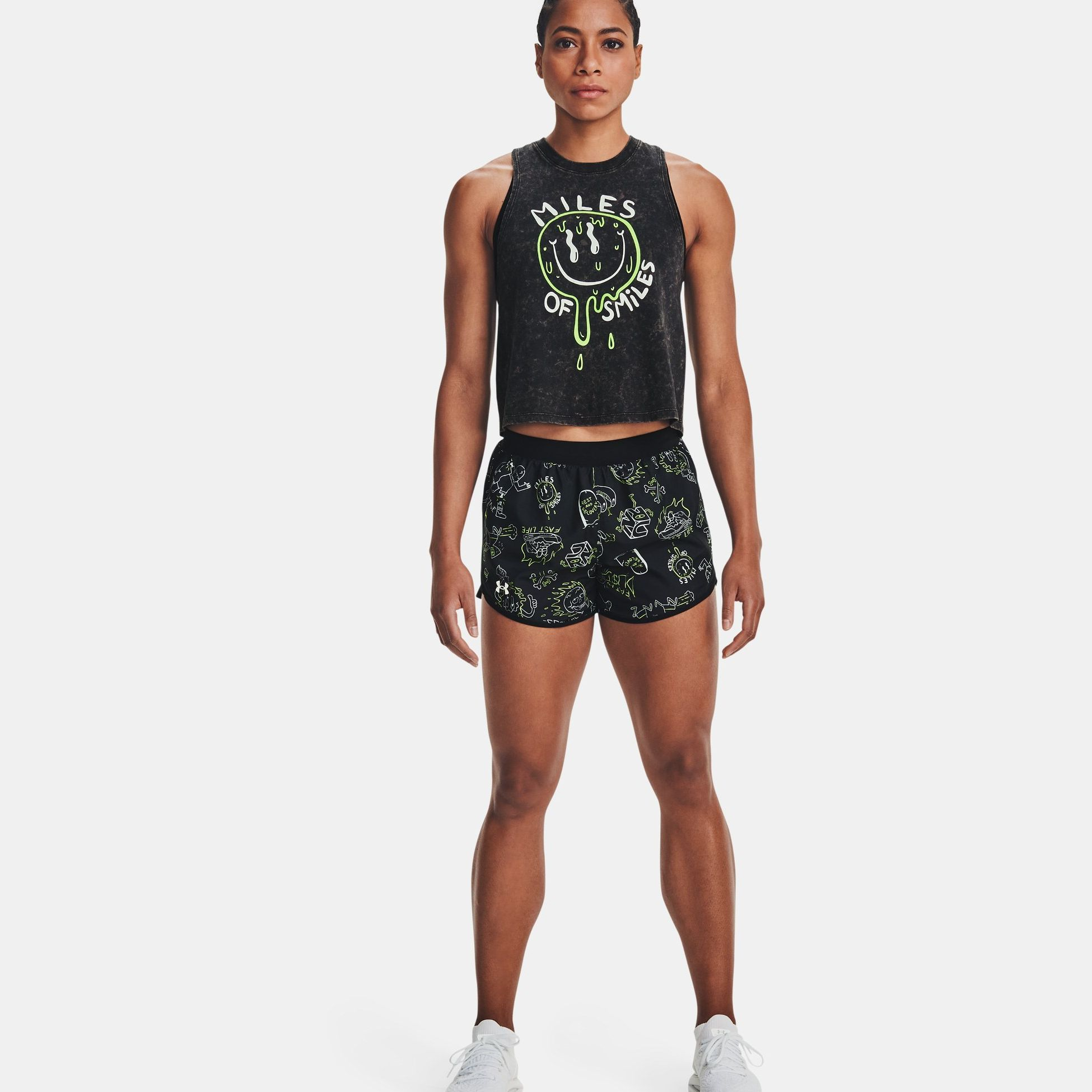 Clothing -  under armour Fly-By Run Your Face Off