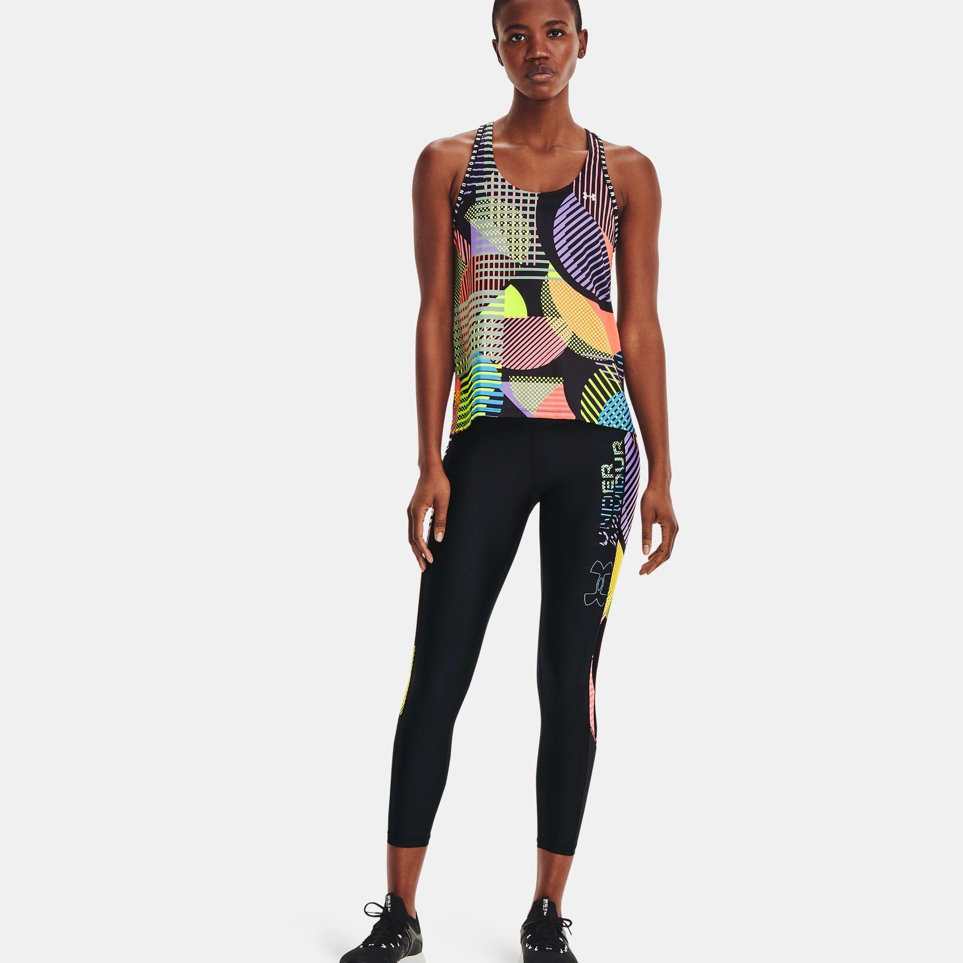 Clothing -  under armour HeatGear Armour No-Slip Waistband Geo Ankle Leggings
