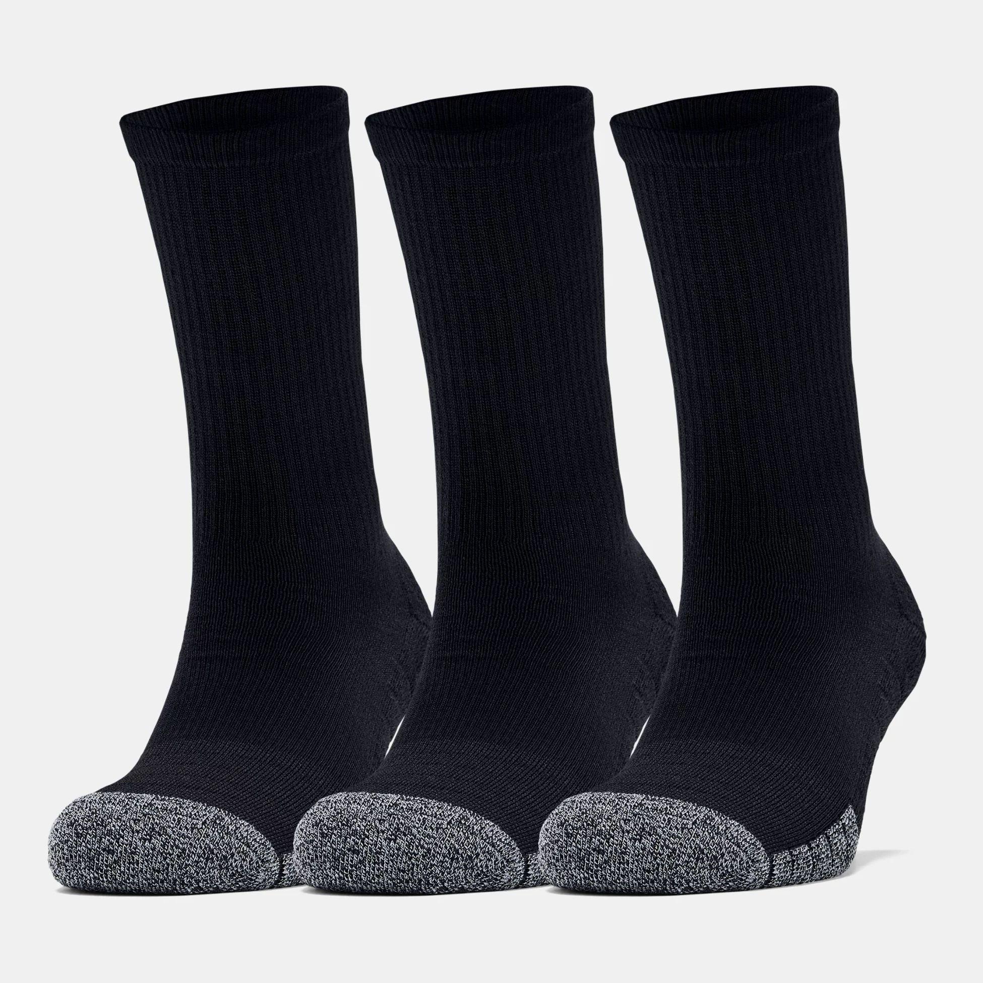 Accessories -  under armour HeatGear Crew Socks 3-Pack