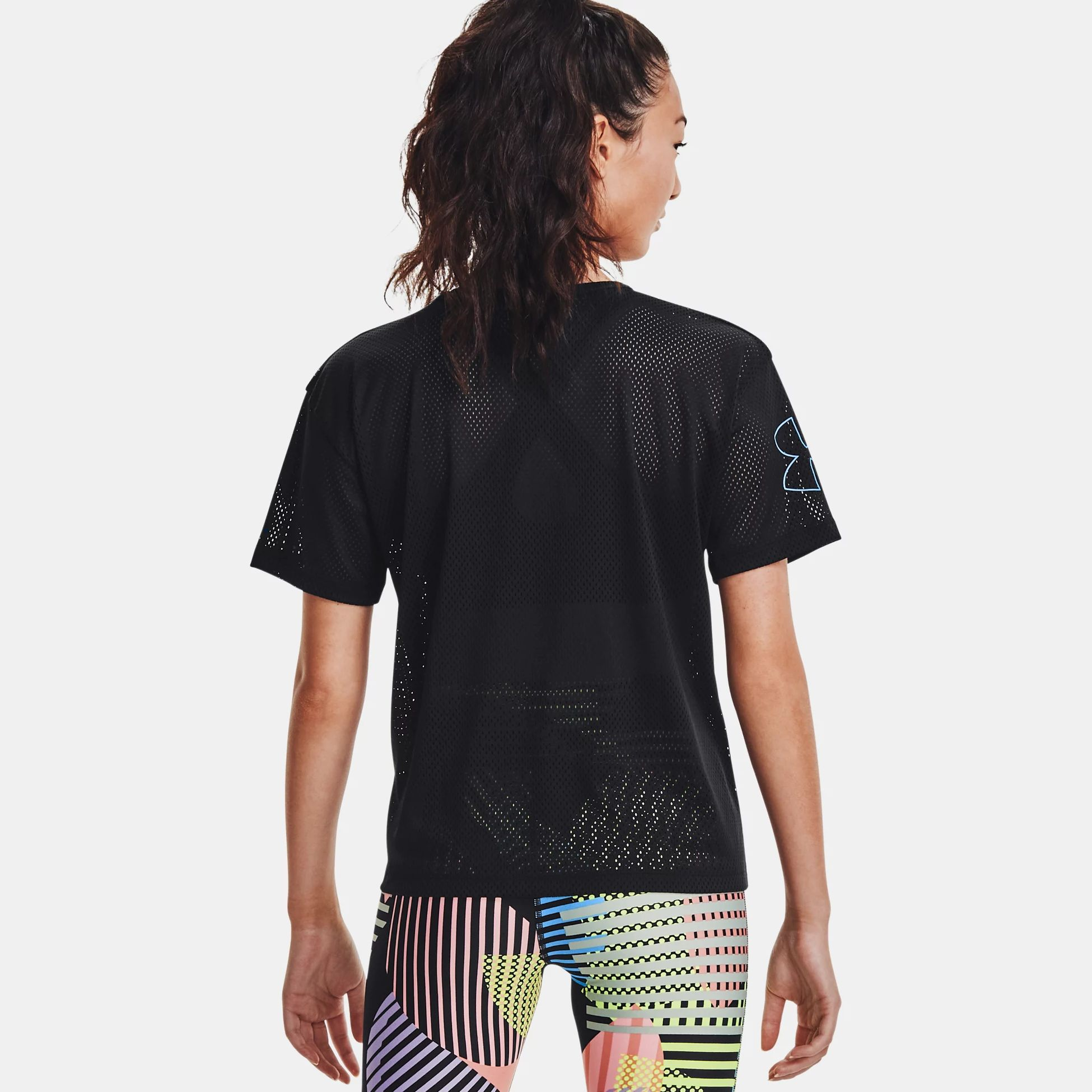 Clothing -  under armour Mesh Geo Graphic Short Sleeve