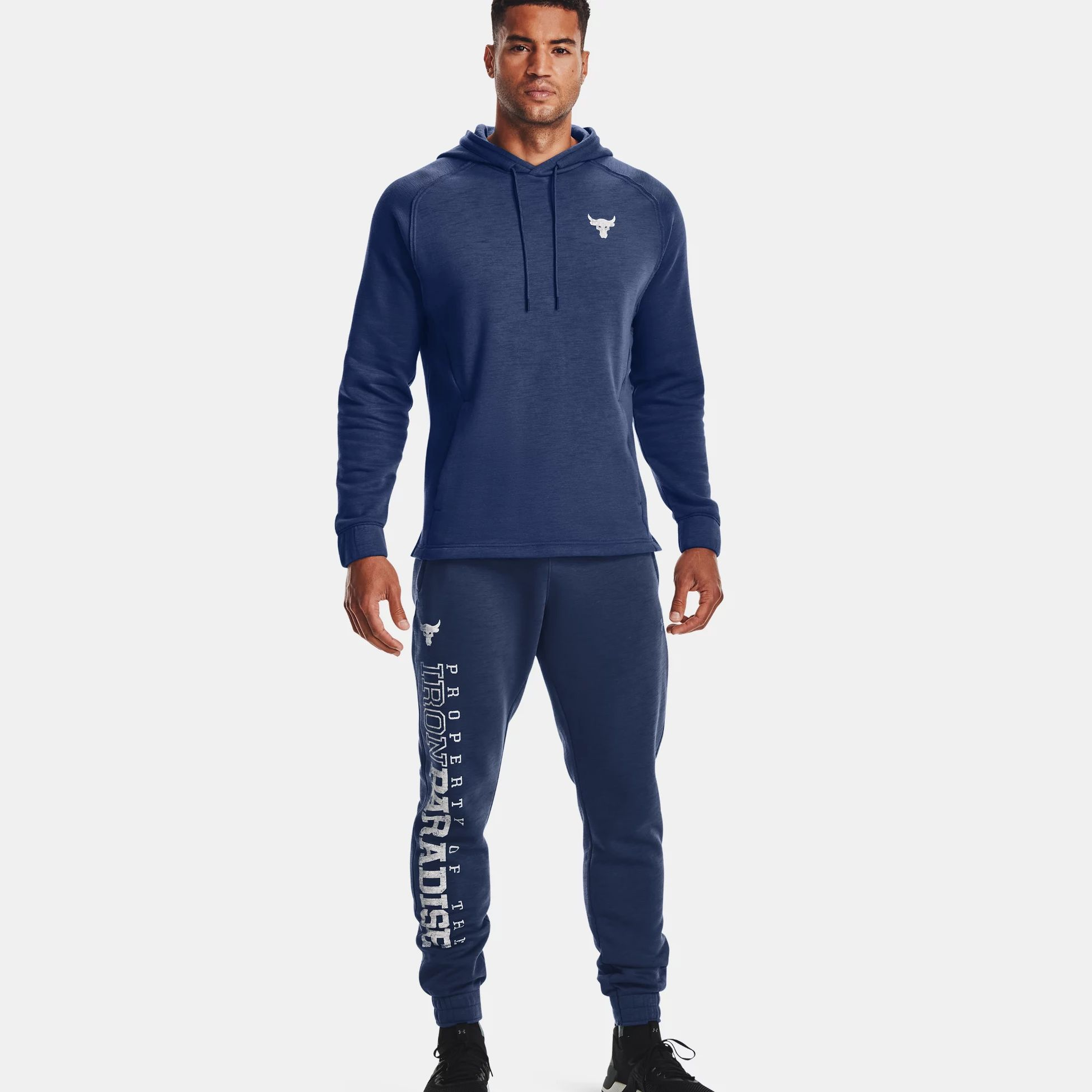 Clothing -  under armour Project Rock Charged Cotton Fleece Joggers