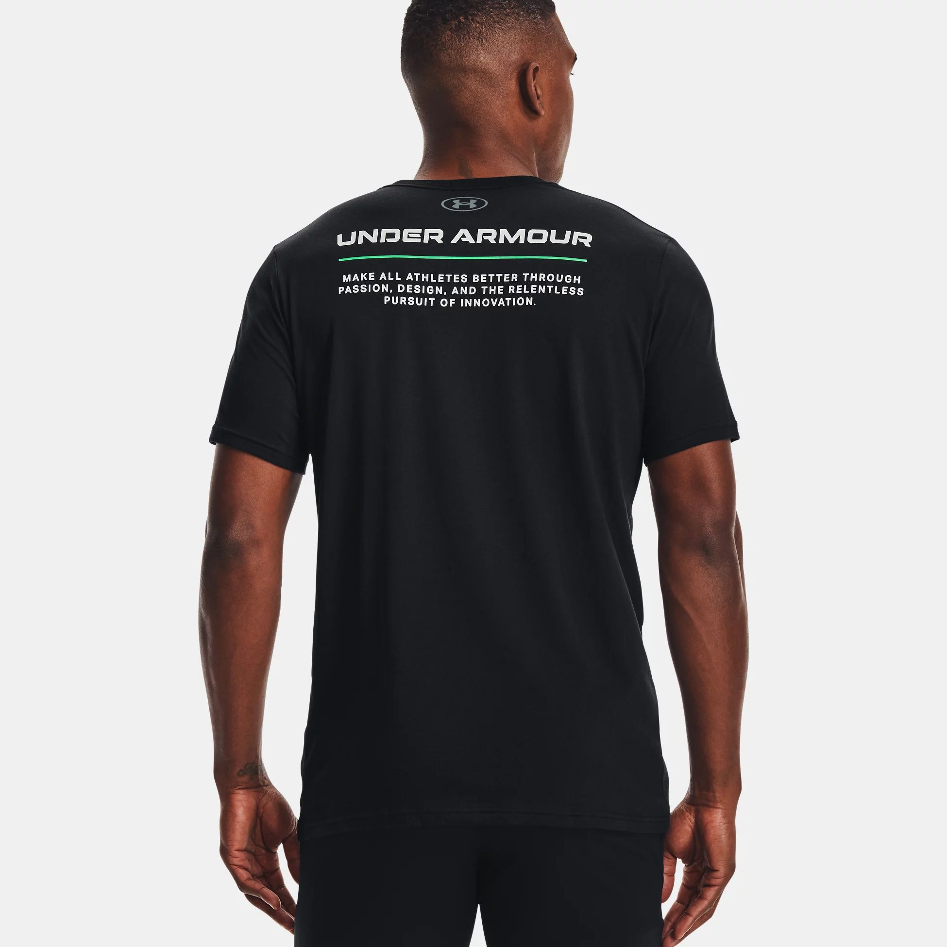 Clothing -  under armour UA Boxed All Athletes Short Sleeve