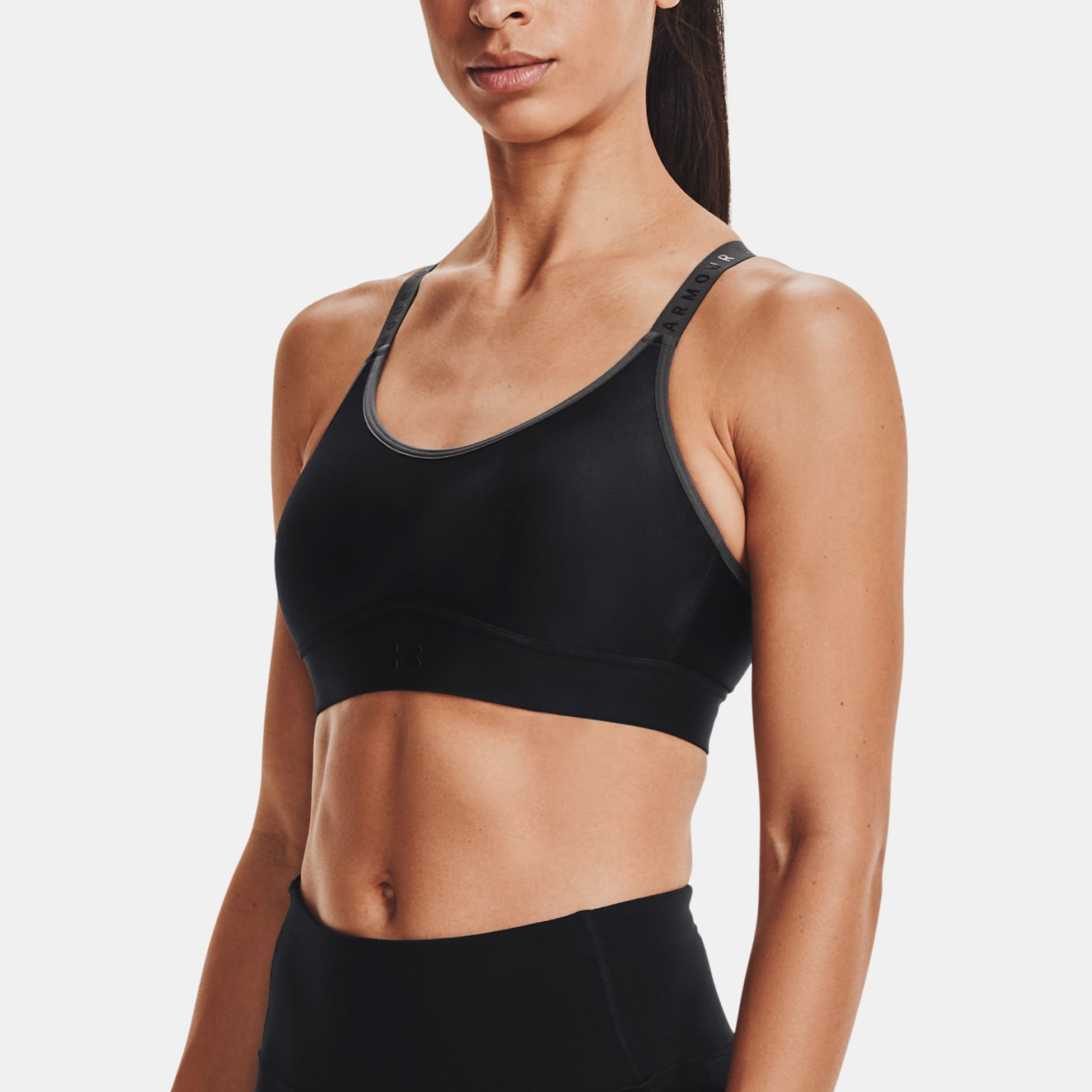 Clothing -  under armour UA Infinity Mid Printed Sports Bra 1157