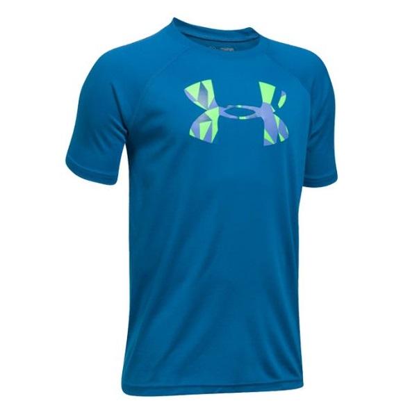 Under Armour Big Boys Big Logo UA Tech/™ T-Shirt
