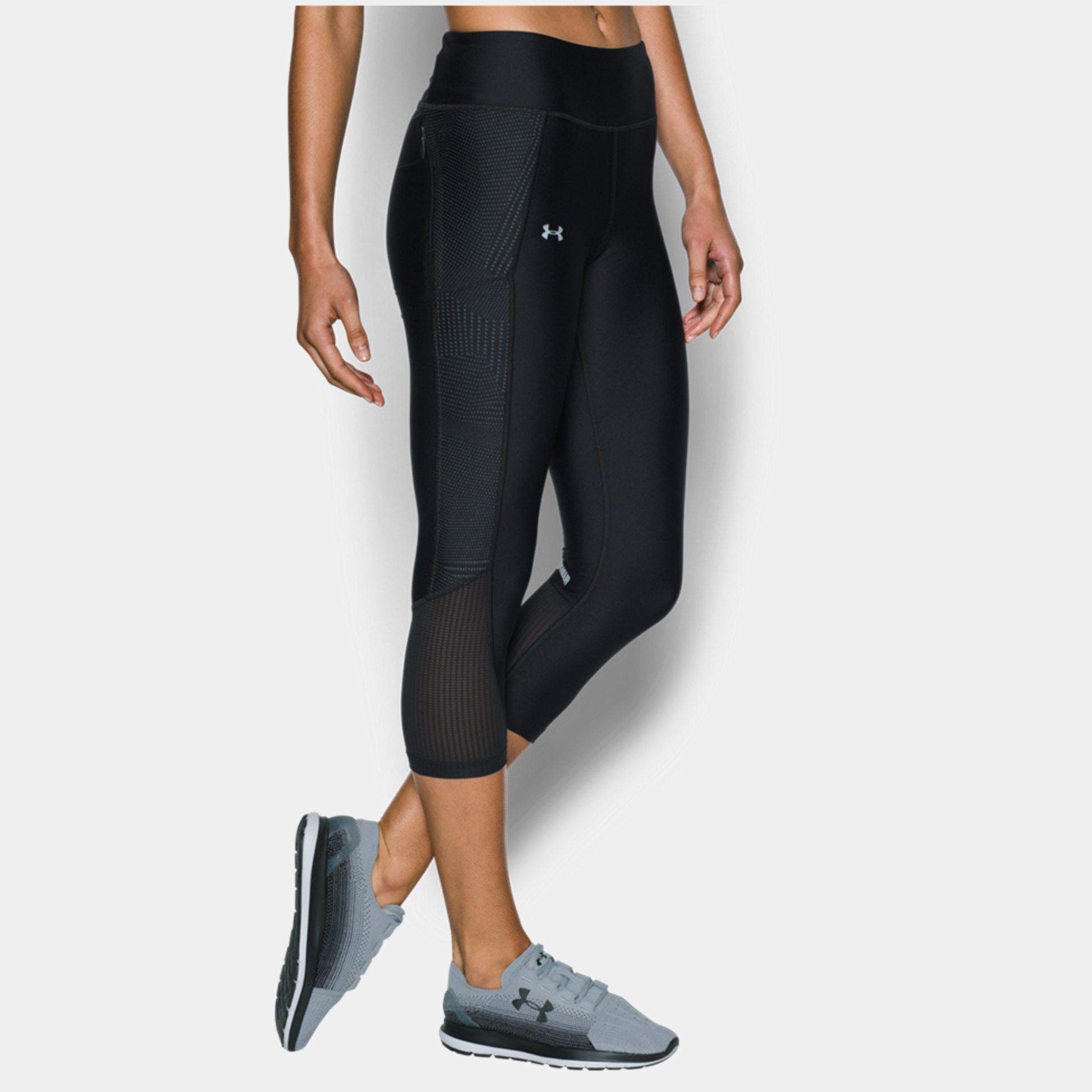 great look the cheapest usa cheap sale Leggings & Tights | Clothing | Under armour Fly-By Printed Capri ...
