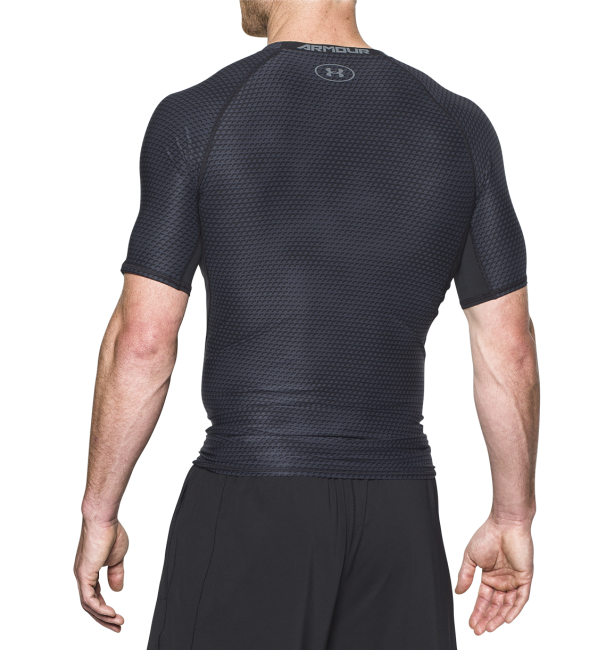 Clothing -  under armour HeatGear Armour Printed Short Sleeve Compression Shirt 7477