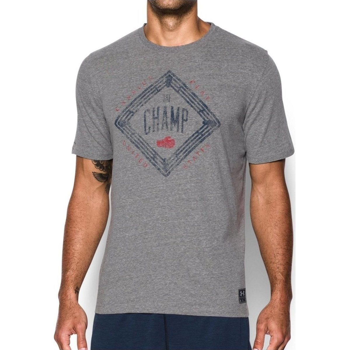 92dd4842 under armour Muhammad Ali Cassius The Champ T-Shirt | Fitness