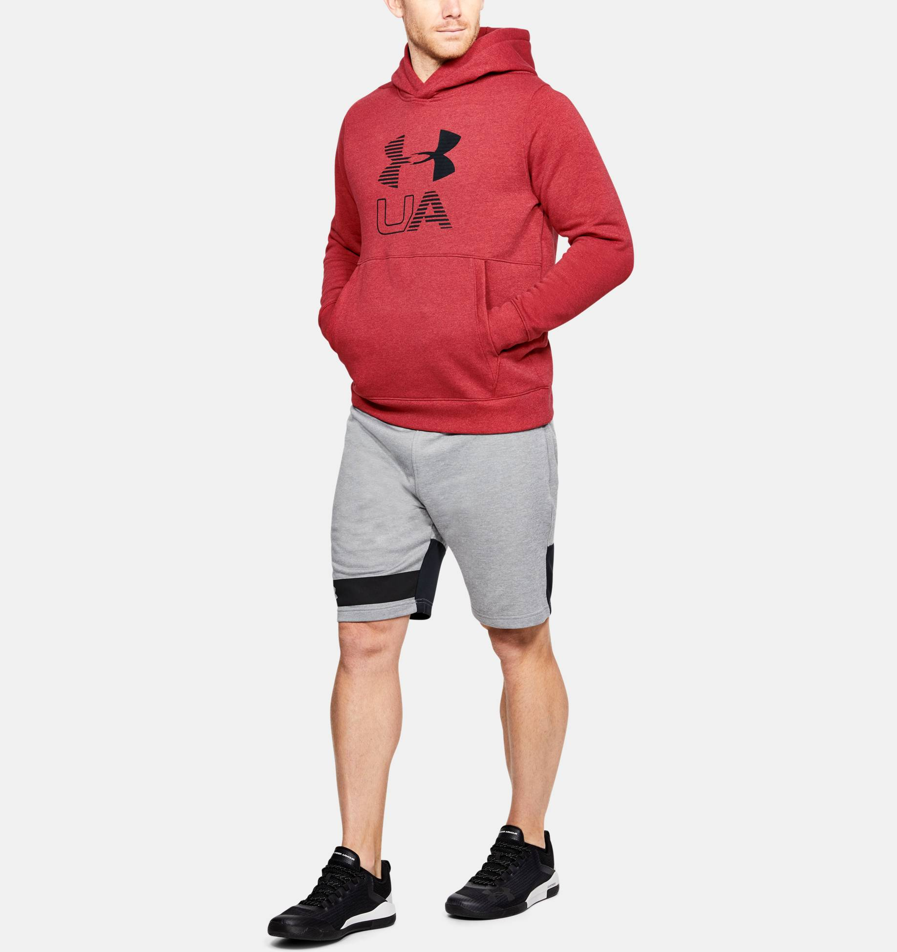 Clothing -  under armour Stretch Fleece Graphic Hoodie 9143