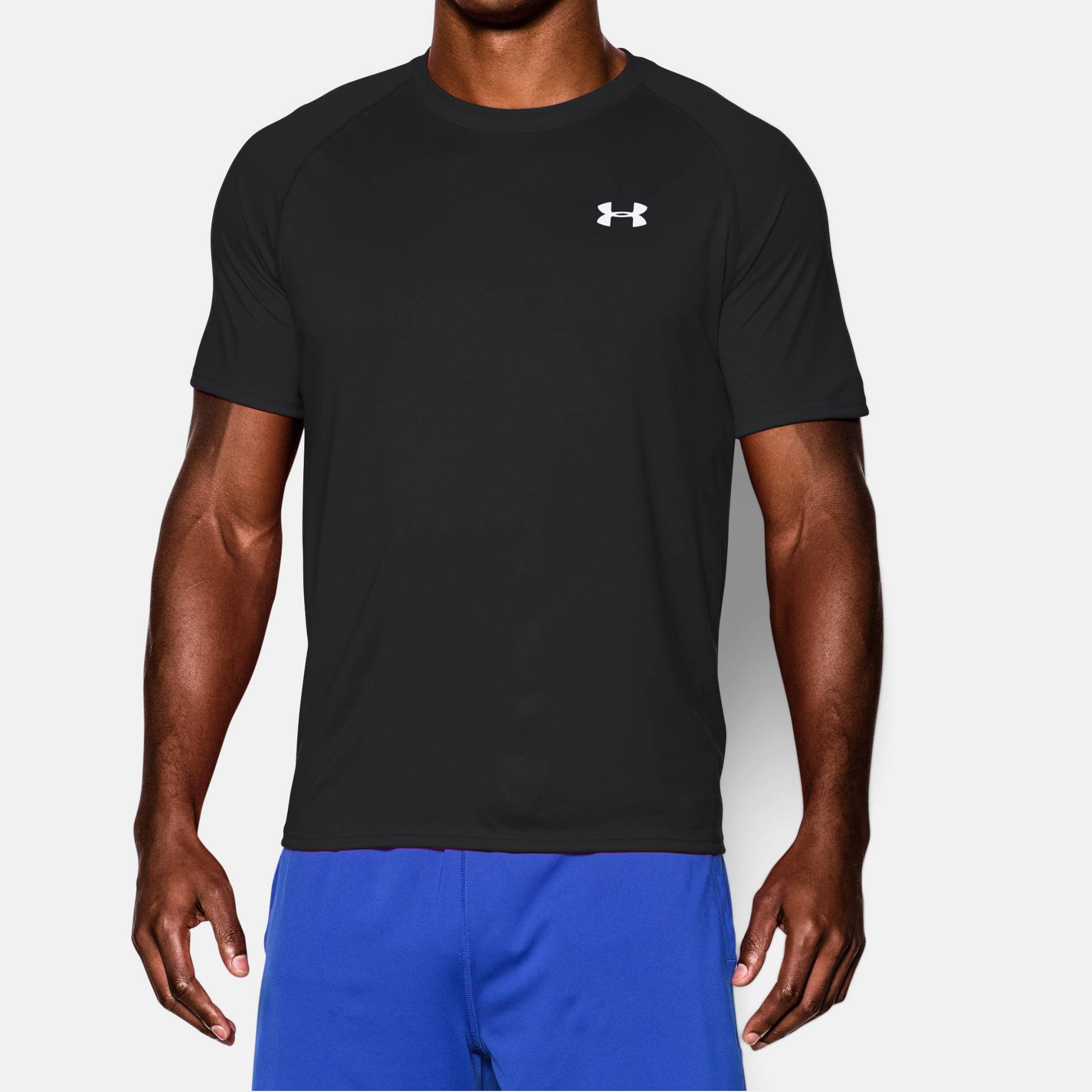 Clothing under armour tech short sleeve t shirt fitness for Under armour men s tech short sleeve t shirt