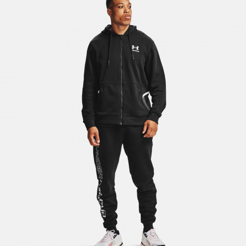 Clothing - Under Armour  UA Rival Fleece AMP Full Zip Hoodie 7113 | Fitness