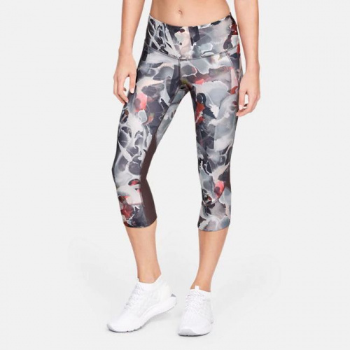 Clothing - Under Armour Armour Fly-Fast Printed Capri 0321 | Fitness