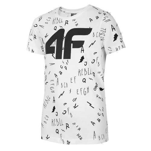 Clothing - 4f Boy T-Shirt JTSM002 | Fitness