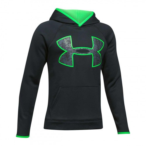 Clothing - Under Armour Boys Armour Fleece Big Logo Hoodie 9342 | Fitness
