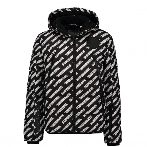 Ski & Snow Jackets - Superrebel FASHION PADDED WINTER JACKET | Snowwear