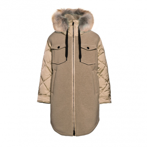 Winter Jackets - Goldbergh COVER Jacket Real Fur | Snowwear