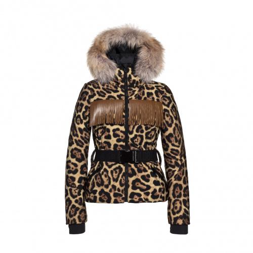 Ski & Snow Jackets - Goldbergh WESTERN Jacket real arctic raccoon | Snowwear