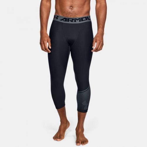 Clothing - Under Armour HeatGear Armour 3/4 Leggings 1185 | Fitness