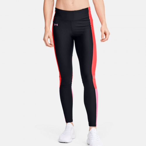 Clothing - Under Armour HeatGear Armour Perf Inset Graphic Leggings 1725 | Fitness