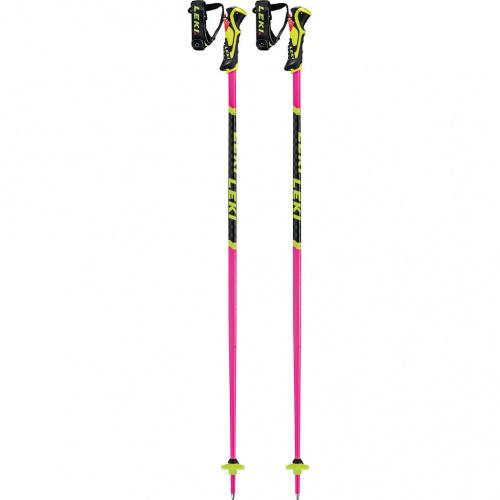 Ski Poles - Leki WCR Lite SL 3D Pink | Ski