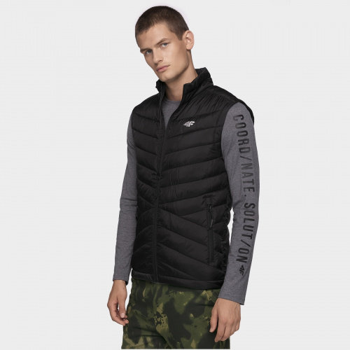 Winter Jackets - 4f Men Synthetic Down Vest KUMP001 | Snowwear