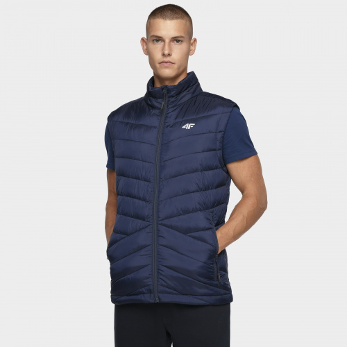 Winter Clothing - 4f Men Synthetic Down Vest KUMP001 | Sportstyle
