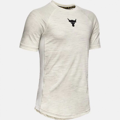 Clothing - Under Armour Project Rock Charged Cotton T-Shirt 2690 | Fitness