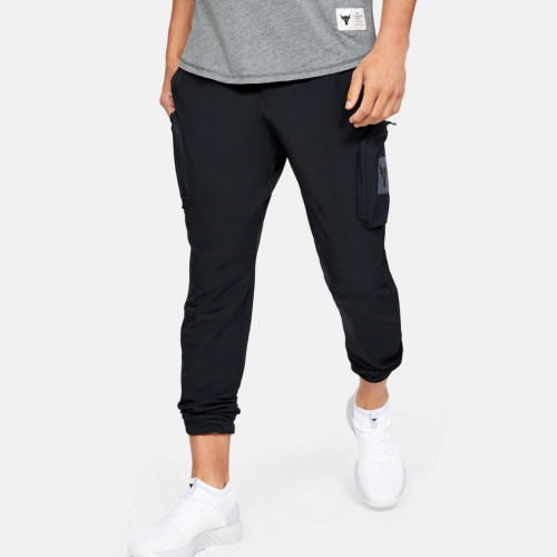 Clothing - Under Armour Project Rock Woven Cargo Pants 6105 | Fitness