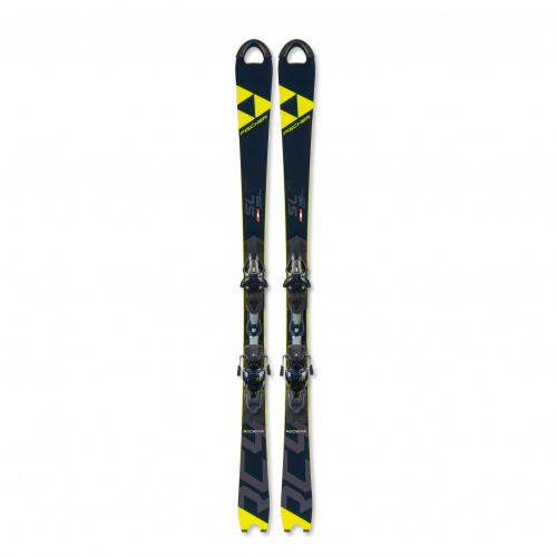 Ski - Fischer RC4 Worldcup SL JR. Curv Booster + RC4 Z11 Freeflex | Ski