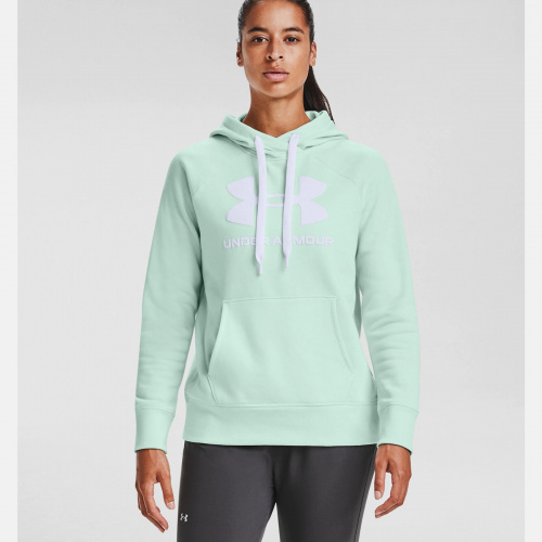 Clothing - Under Armour Rival Fleece Logo Hoodie 6318 | Fitness