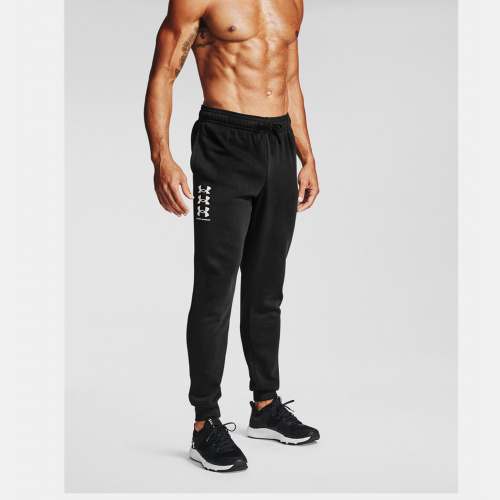Clothing - Under Armour Rival Fleece Multilogo Joggers 7131 | Fitness
