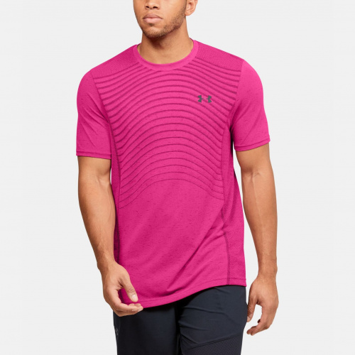 Clothing - Under Armour Seamless Wave Short Sleeve 1450 | Fitness