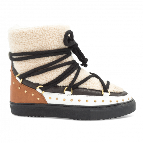 - Inuikii Sneaker Curly Rock Cream | Shoes