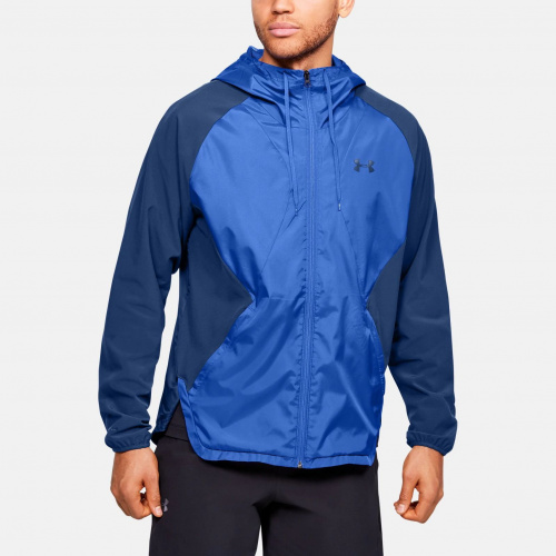 Clothing - Under Armour Stretch Woven Full Zip Jacket 2021 | Fitness