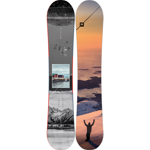 Boards - Nitro Team Exposure Gullwing | Snowboard
