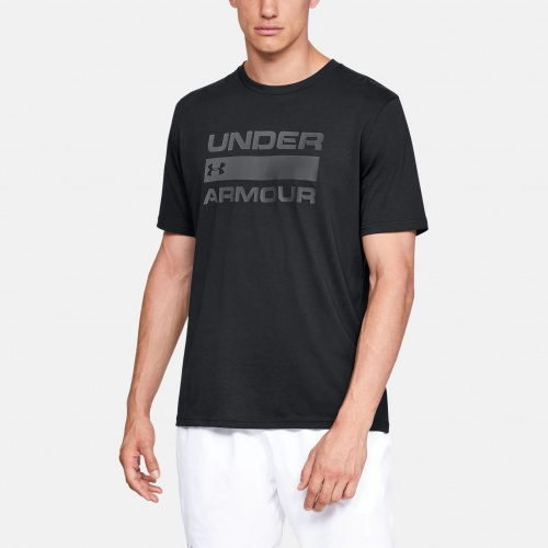 Clothing - Under Armour Team Issue Wordmark Short Sleeve 9582 | Fitness