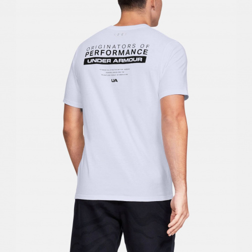 Clothing - Under Armour UA Bar Originators of Performance T-Shirt 2045 | Fitness