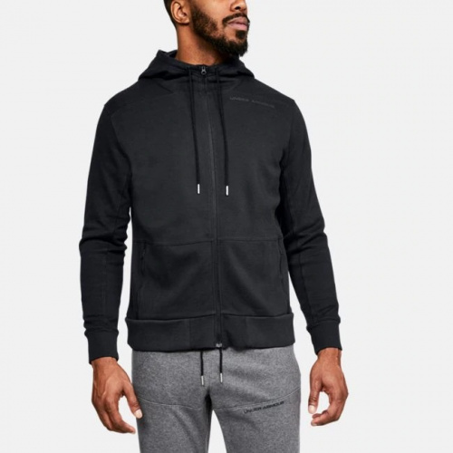 Clothing - Under Armour UA Pursuit Microthread Full Zip Hoodie 7415 | Fitness