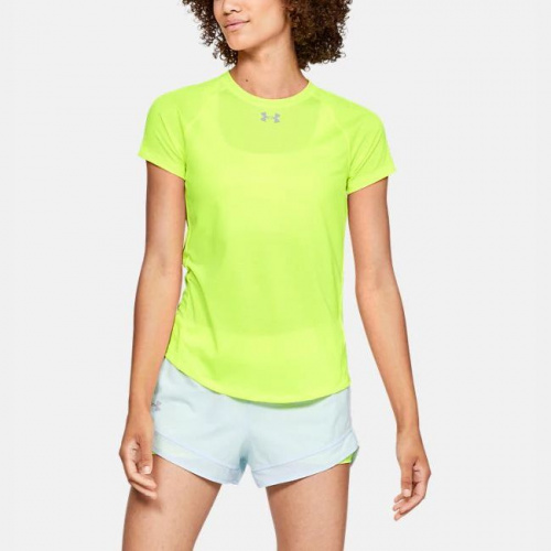 Clothing - Under Armour UA Qualifier HexDelta T-Shirt 6504 | Fitness