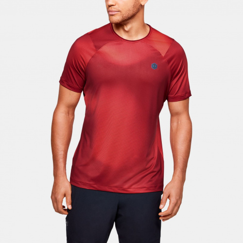 Clothing - Under Armour UA Rush HG Fitted Printed T-Shirt 1559 | Fitness