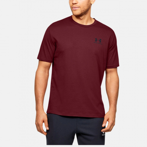 Clothing - Under Armour UA Sportstyle Left Chest T-Shirt 6799 | Fitness