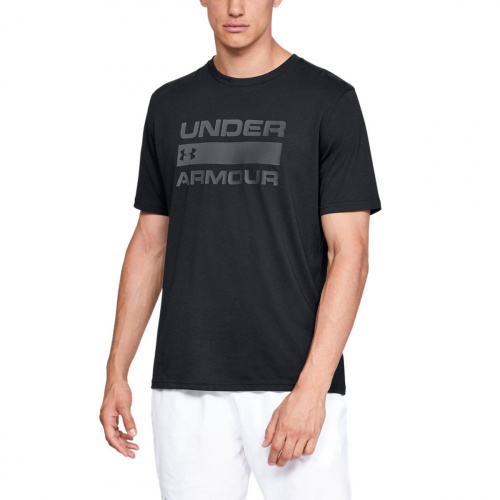 Clothing - Under Armour UA Team Issue Wordmark Short Sleeve 9582 | Fitness