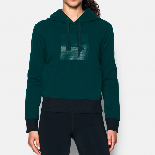 Clothing - Under Armour UA Threadborne Fleece Graphic Hoodie 8592 | Fitness
