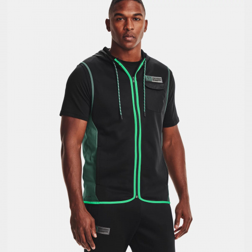 Clothing - Under Armour Armour Fleece Storm Hooded Vest | Fitness