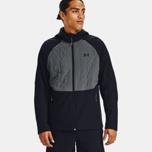 Clothing - Under Armour ColdGear Reactor Hybrid Lite Jacket   Fitness