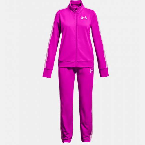 Clothing - Under Armour Girls UA Knit Track Suit 3380 | Fitness