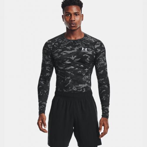 Clothing - Under Armour HeatGear Armour Camo Long Sleeve | Fitness