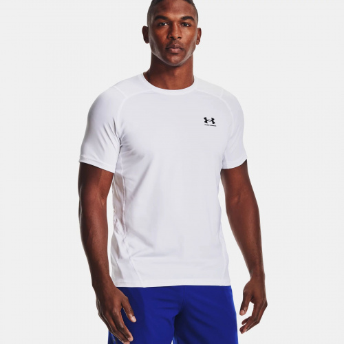 Clothing - Under Armour HeatGear Armour Fitted T-Shirt 1683 | Fitness
