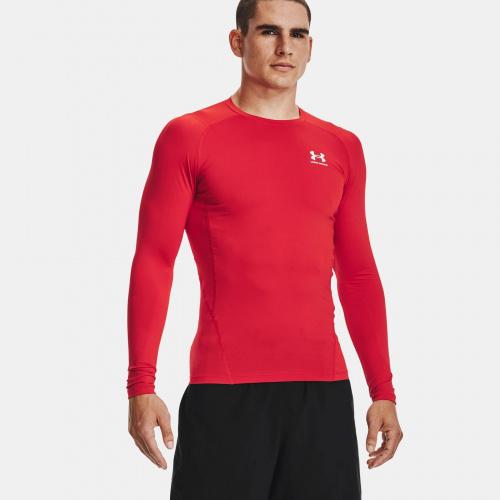 Clothing - Under Armour HeatGear Armour Long Sleeve   Fitness